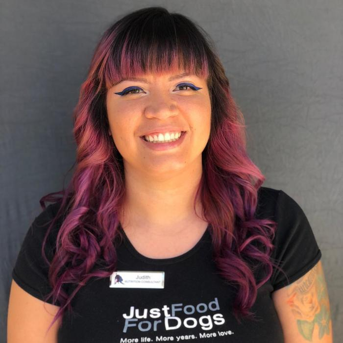 Judith <br /> Just Food for Dogs Manager  photo